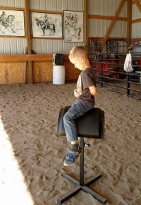 It's never too early to think about rider biomechanics